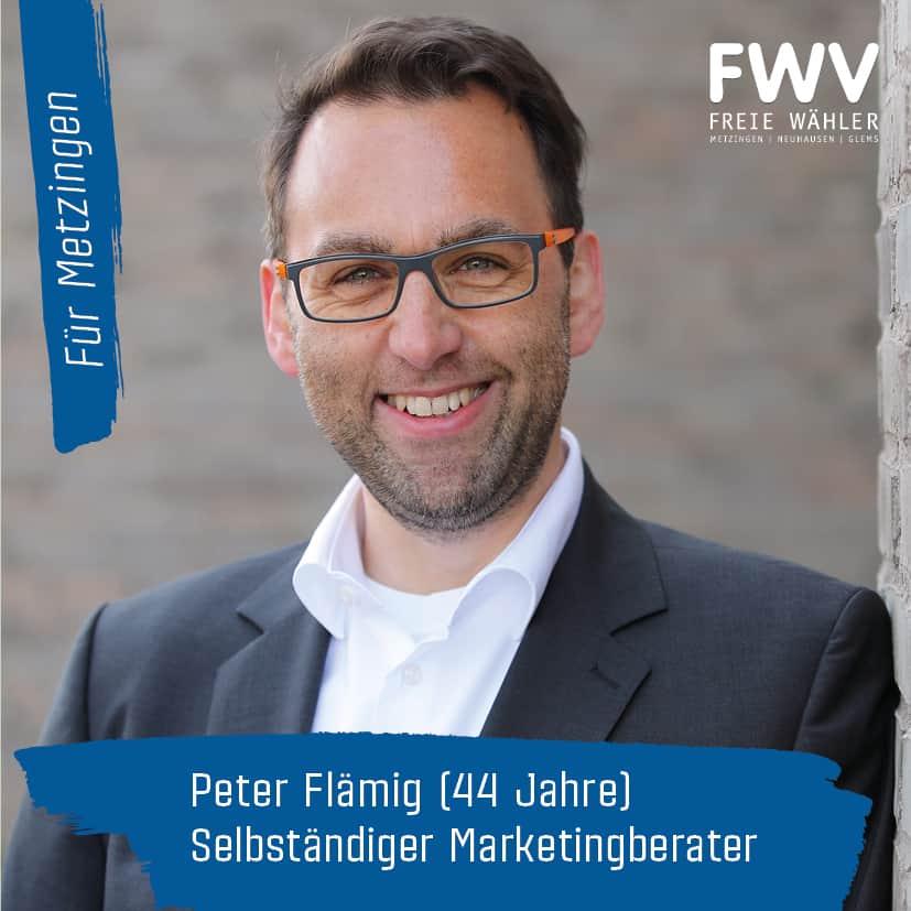 Peter Flämig Kandidat Gemeinderatswahl 2019