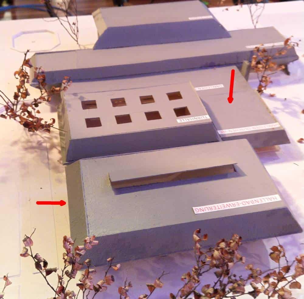 Eine Machbarkeitsstudie von Architekt Paul Ludwig Dolmetsch.